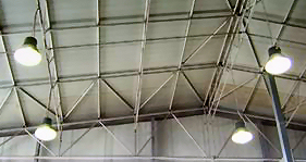 Illuminazione industriale impianti elettrici certificati